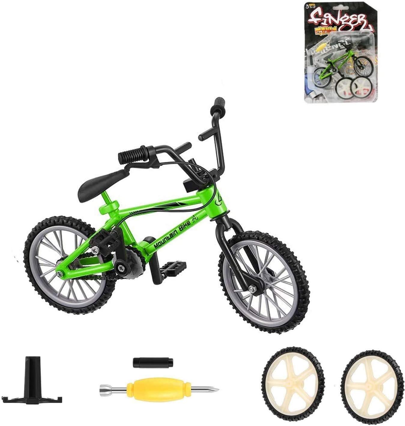 Zeyujie Our 1 year warranty shop most popular Green 1:12 Mini Toy Model Outdoor Bicy Scene Accessories