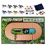 Photo Finish Horse Track Racing Board Game   Best New Fun Parlor Party Game   Original, Classic Edition   Improved Horses
