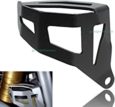 Motorcycle Aluminum Rear Brake Reservoir Guard Cover For BMW R1200GS LC Adventure 2013-2017 (Black)