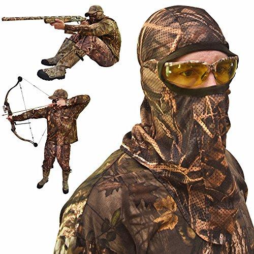 DecoyPro Camo Face Mask – Camo Face Mask Hunting Mask...