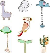 Enamel Pin Sets Cute Pins Funny Animal Lapel Pin Brooch Pin for Backpack