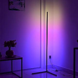 RGB Floor Lamp-led Corner Light-color Changing Light - RGB And App Colored Tall Lights Corner Floor Lamp - Minimalist Home...