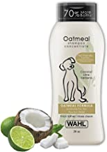Wahl Dry Skin & Itch Relief Pet Shampoo for Dogs – Oatmeal Formula with Coconut Lime Verbena & 100% Natural Ingredients – ...