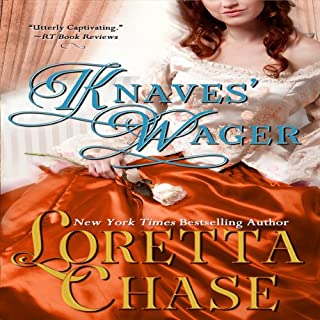 Knaves' Wager                   By:                                                                                                                                 Loretta Chase                               Narrated by:                                                                                                                                 Stevie Zimmerman                      Length: 7 hrs and 16 mins     169 ratings     Overall 3.9