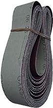 UIEMMY Sandpapper 10 st slipbälte 680 x 40 mm aluminium slipbälte metall träprodukter slipbälte slip- och poleringsbälte, 180