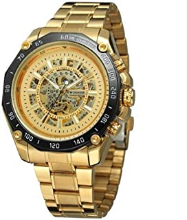 Watch New Hollow Automatic Mechanical Watch/Steel Belt Multi-Function Large Dial/Men's Watch/Good Material, High Quality, Fashion Watch