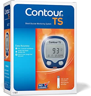 Contour TS Blood Glucose Monitor Glucometer with 10 Free Strips