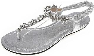 Pedreria esSandalias Mujer Zapatos Para Amazon PkXuTwilZO