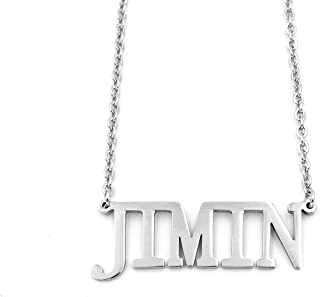bts name necklace