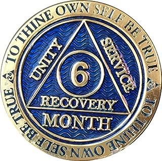 6 month sober chip