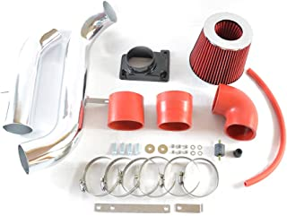 Intake Pipe Perfit formance Cold Air Intake Induction Kit With Filter fit for Mitsubishi Eclipse 1999 2000 2001 2002 2003 2004 2005 2.4L/3.0L(red)