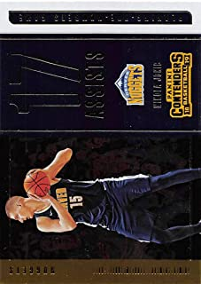 hot sale online 5fe17 41888 2018-19 Panini Contenders Playing the Numbers Game Basketball  3 Nikola Jokic  Denver Nuggets