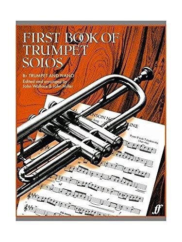 First Book Of Trumpet Solos. Für Trompete, Klavierbegleitung