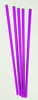 "5 PC 1//4"" DIAMETER 12"" INCH LONG CLEAR PURPLE ACRYLIC PLEXIGLASS TRANSLUCENT ROD"