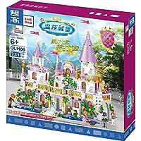 女の子ビルディングブロックブロック城レンガ子供DIYおもちゃ女の子のための女の子731pcs