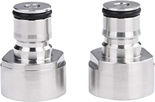 Ball Lock Quick Disconnect Adapters- Set for Gas and Liquid Lines for A, D, S, and G Type Keg Couplers, Works with Commercial and Homebrew Kegs, a U.S. Solid Product