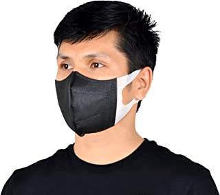 SWIFT 50 Pcs 3D Face Mask (BLACK)