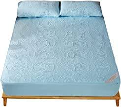 Waterproof Bed Sheets for Incontinence Washable Pocket-Hypoallergenic Dust Proof Breathable Ultrasoft Noiseless Mattress P...