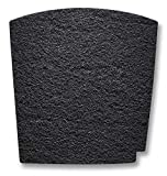 Hamilton Beach TrueAir Replacement Carbon Filter for Odor Eliminators, Common Household-Trash, Pet, Smoke and Bathroom, 1-pk (04290G)