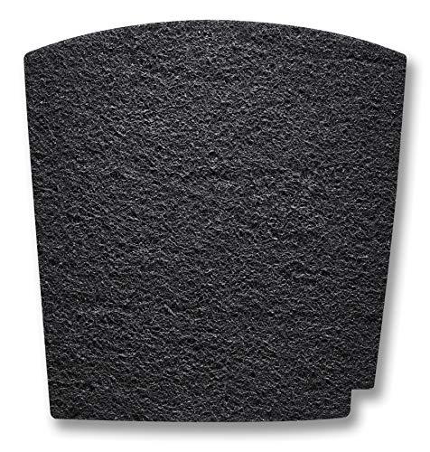 Hamilton Beach TrueAir Replacement Carbon Filter for Odor Eliminators, Common Household-Trash, Pet, Smoke and Bathroom, 1-pk (04290G)