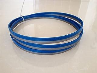 WNJ-TOOL, 1 st 82 cm x 1,3 cm x 14 tpi dubbelmetall skärande band sågblad för bandsåg 203 mm x 13 mm