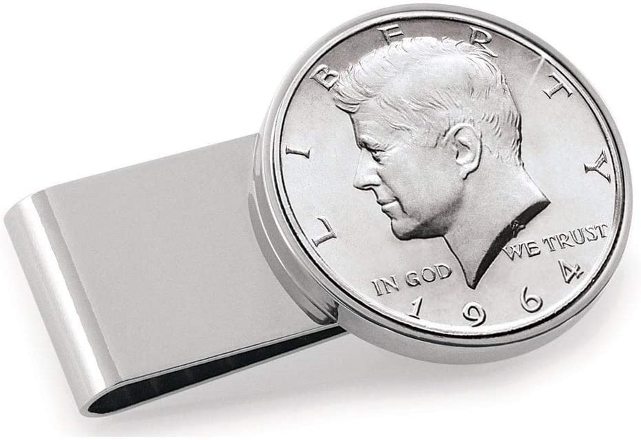 Stainless Steel JFK 1964 Max 60% OFF First Year of C Money Issue Half Dollar Selling rankings