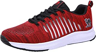Mens Trail Running Shoes Mesh Comfortable Casual Workout Sneakers Athletic Walking Shoes