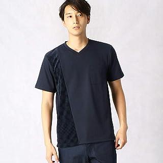 (コムサ メン) COMME CA MEN パイルジャカードVネックTシャツ 07-42TN03-109