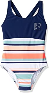 Big Girls' Happy Spring One Piece Swimsuit