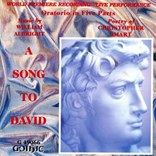 A Song to David: Part V, Creation and Redemption: Sweet is the dew that falls betimes (Chorus)