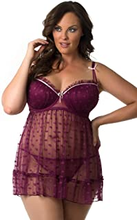 Sexy Plus Size Babydoll for Women 512156Q