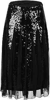 Best black sequin maxi skirt Reviews