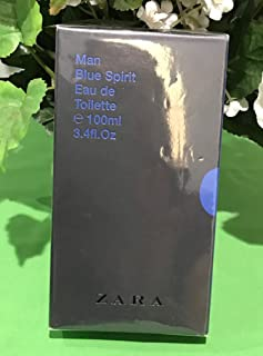 zara man blue spirit perfume