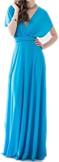 Sexy Women CLU Red Bandage Long Dress Party Multiway Bridesmaids Convertible Infinity,