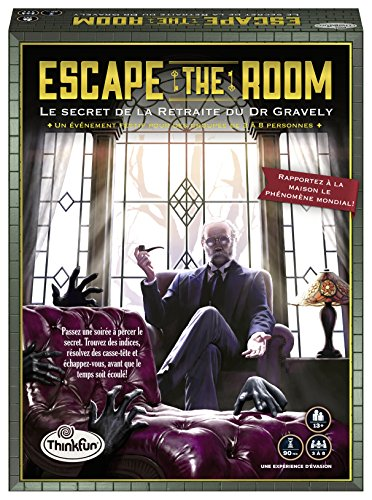 Ravensburger- Juegos Escape The Room-Secret Retrait, 76312