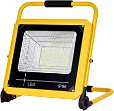 150W LED Work Light 15000LM, Portable Rechargeable Construction Site Lights IP65 Waterproof Outdoor FloodLight Workshop La...