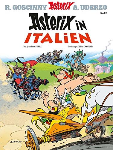 Asterix 37: Asterix in Italien (German Edition)