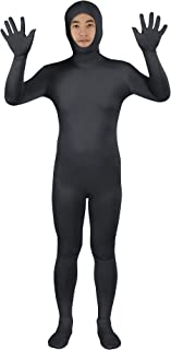 Men's and Women's Face Open Zentai Lycra Spandex Bodysuits