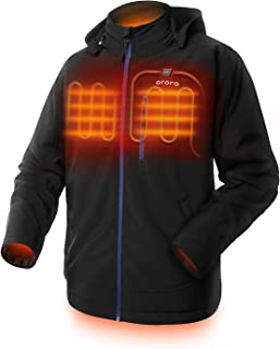 mens tall heated jacket