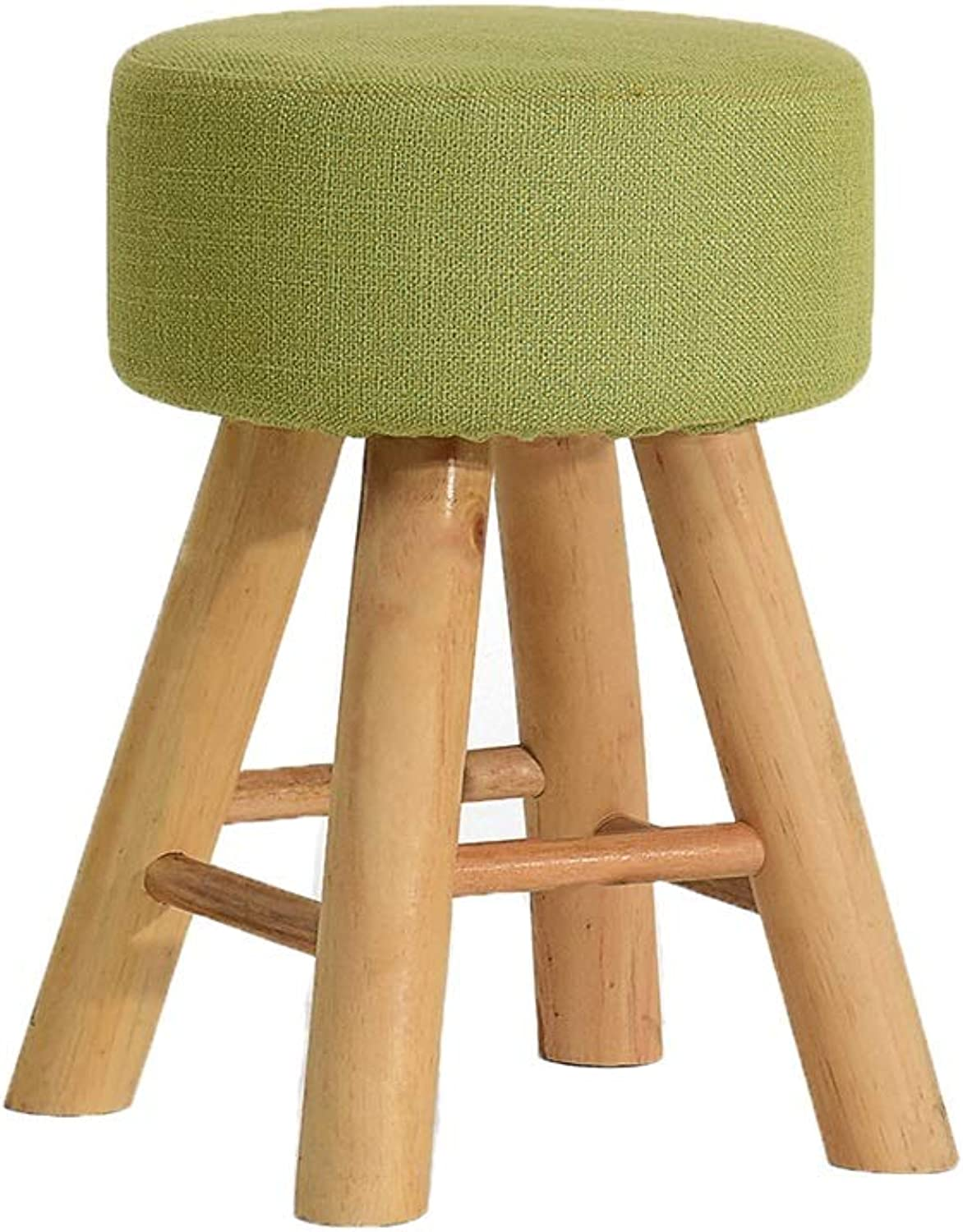 Small Stools Beech Stools Legs Square Dining Stool Dressing Makeup Stool Home Stool (color   A)