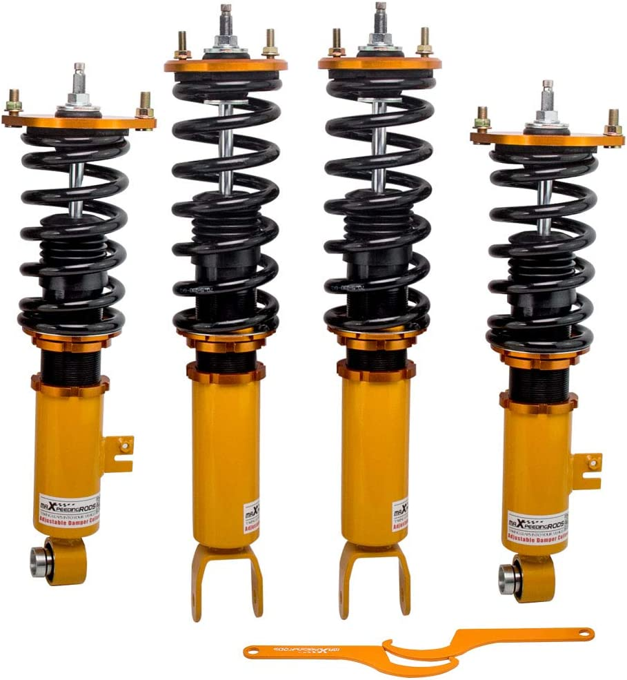 Adjustable Damping Coilovers for Nissan 流行 300ZX Z32 Fairldy Z 1990 スーパーセール期間限定