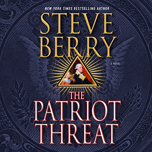 The Patriot Threat audiobook cover art