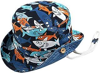 Circunferencia de la Cabeza 46//54cm Beb/é Sombrero para el Sol Ni/ños Ni/ñas Sombrero de Pescador Algod/ón Gorro Verano Primavera Protecci/ón UV Motivo Animal