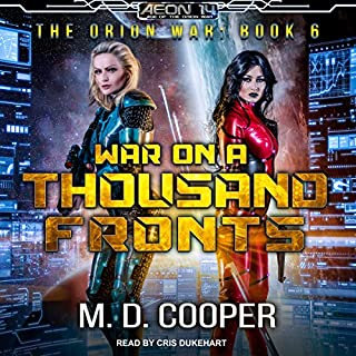 War on a Thousand Fronts audiobook cover art