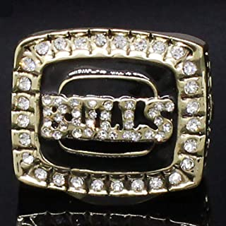 AJZYX 1992 Year Jordan 23 Bulls Champions Replica Ring Collectible Fans Gift Without Display Case Size 11