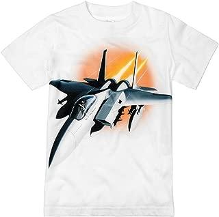 Little Boys' Fighter Jet Airplane T-Shirt