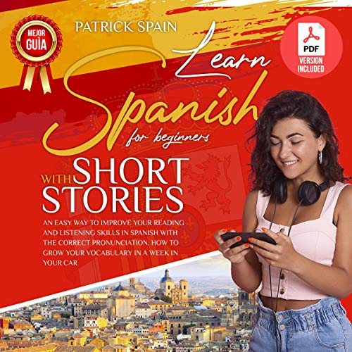 Learn Spanish for Beginners with Short Stories cover art