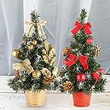 2ocm Mini Aritificial Árbol de Navidad Escritorio Árbol de Navidad Hogar Hotel Centro Comercial para la Fiesta de Navidad Decoración del Hogar