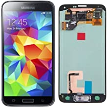 Display Screen Digitizer Touch Screen Assembly Replacement Part for Samsung Galaxy S5.(Black)