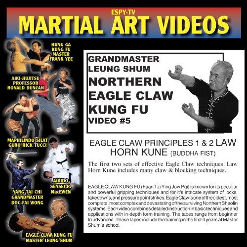 Eagle Claw Kung Fu 5 - Eagle Claw Principles 1 & 2 / Law Horn Kune (Buddha Fist)